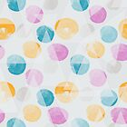 Painted Polka Dots and Triangles by mirimo