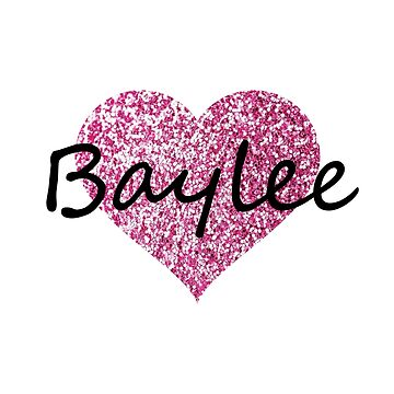 Baylee Pink Heart by Obercostyle