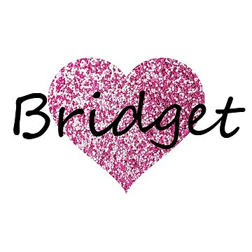 Bridget Pink Heart by Obercostyle