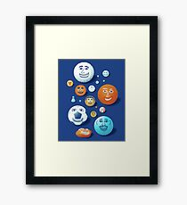 LAST FRIENDS ON EARTH Framed Print