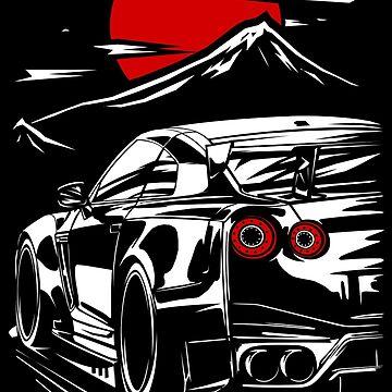 Nissan GT-R Nismo Haruna by w1gger