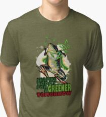 Shaping Today for a Greener Tomorrow v2 Tri-blend T-Shirt