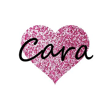 Cara Pink Heart by Obercostyle