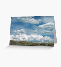 Skyscape ~ Landscape Greeting Card