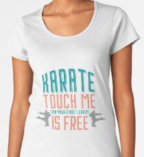 Karate Women's Premium T-Shirt