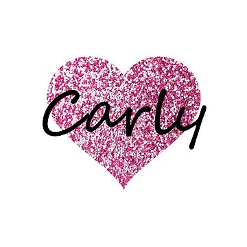 Carly Pink Heart by Obercostyle