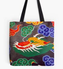 Buddhist Temple Ceiling Tote Bag