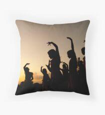 evening dance Throw Pillow