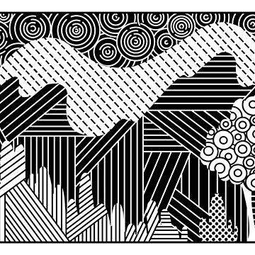 Mountain Pattern by KaitlinDonovan