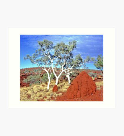 Mighty Pilbara Landscape Art Print