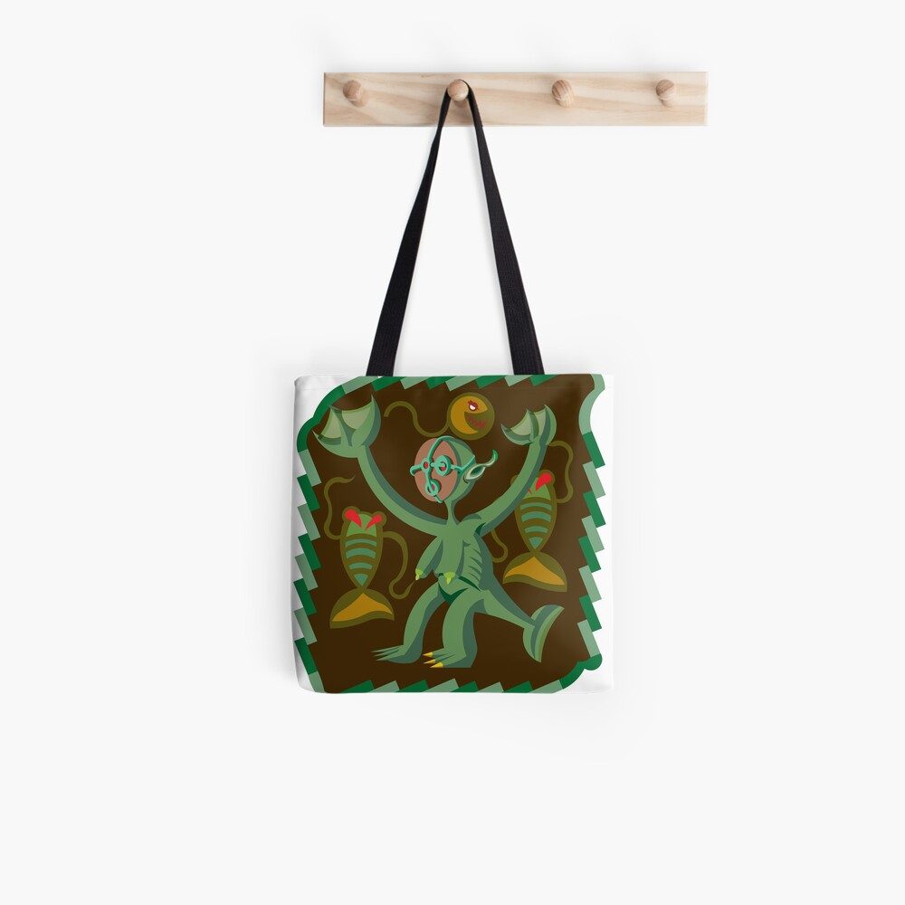 The Nommo are ancestral spirits worshipped by the Dogon people of Mali. Tote Bag
