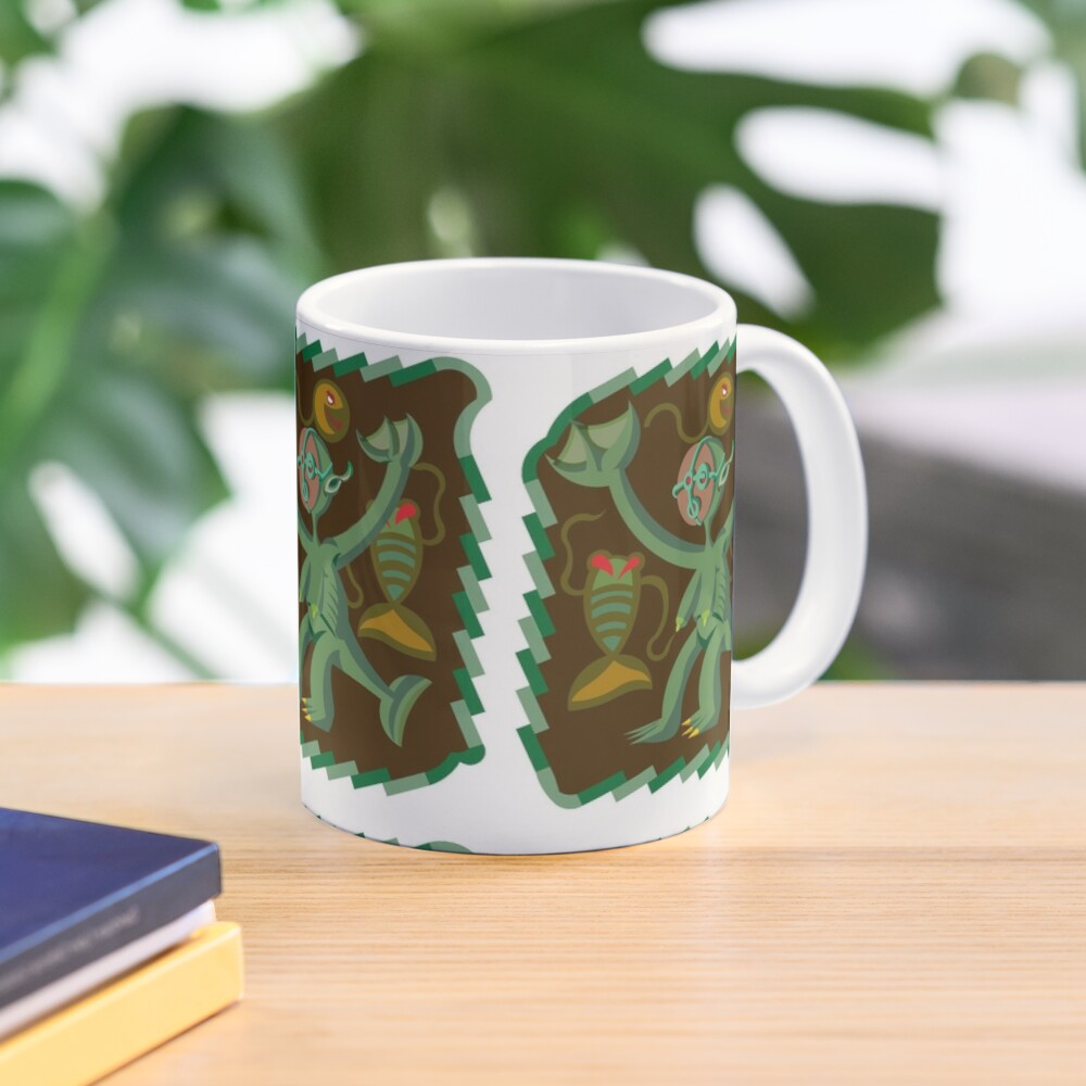 The Nommo are ancestral spirits worshipped by the Dogon people of Mali. Mug