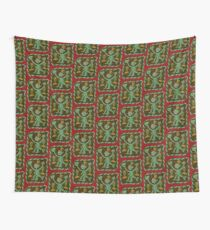 The Nommo are ancestral spirits worshipped by the Dogon people of Mali. Wall Tapestry