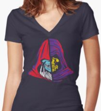Ancient Hoods of Evil Women's Fitted V-Neck T-Shirt