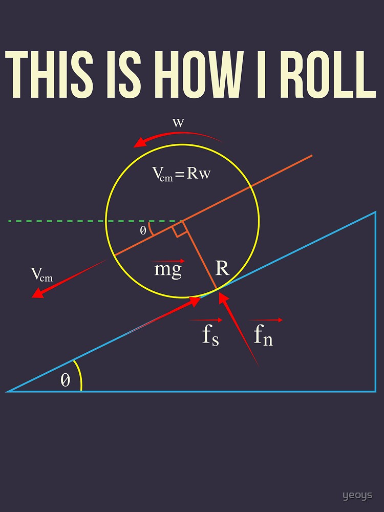 This Is How I Roll - Funny Physics Gift von yeoys