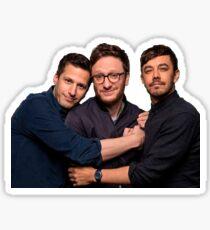 the loney island boys Sticker