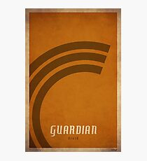 Guardian Druid - WoW Minimalism Photographic Print