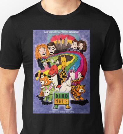Dinomals Animated Series Poster T-Shirt