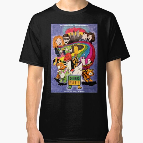 Dinomals Animated Series Poster Classic T-Shirt