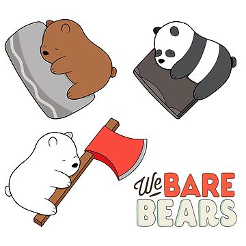 We Bare Bears - ZZZ by GiggleTees