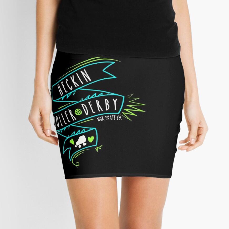 Heckin Roller Derby Mini Skirt