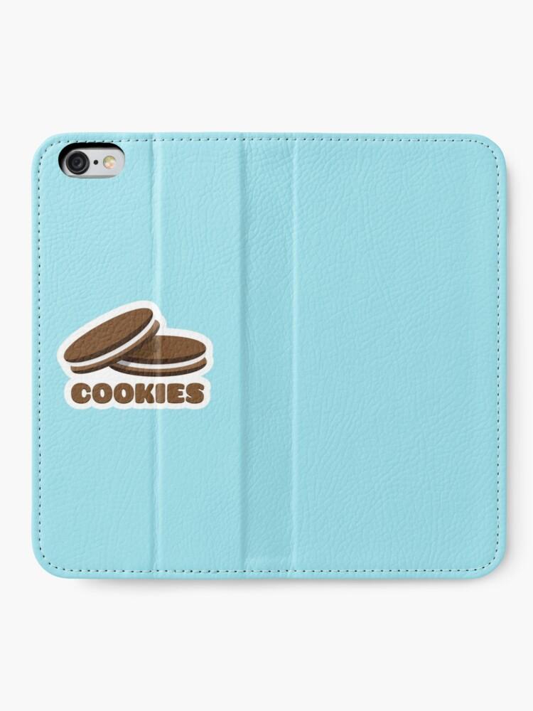 Alternate view of Cookies iPhone Wallet