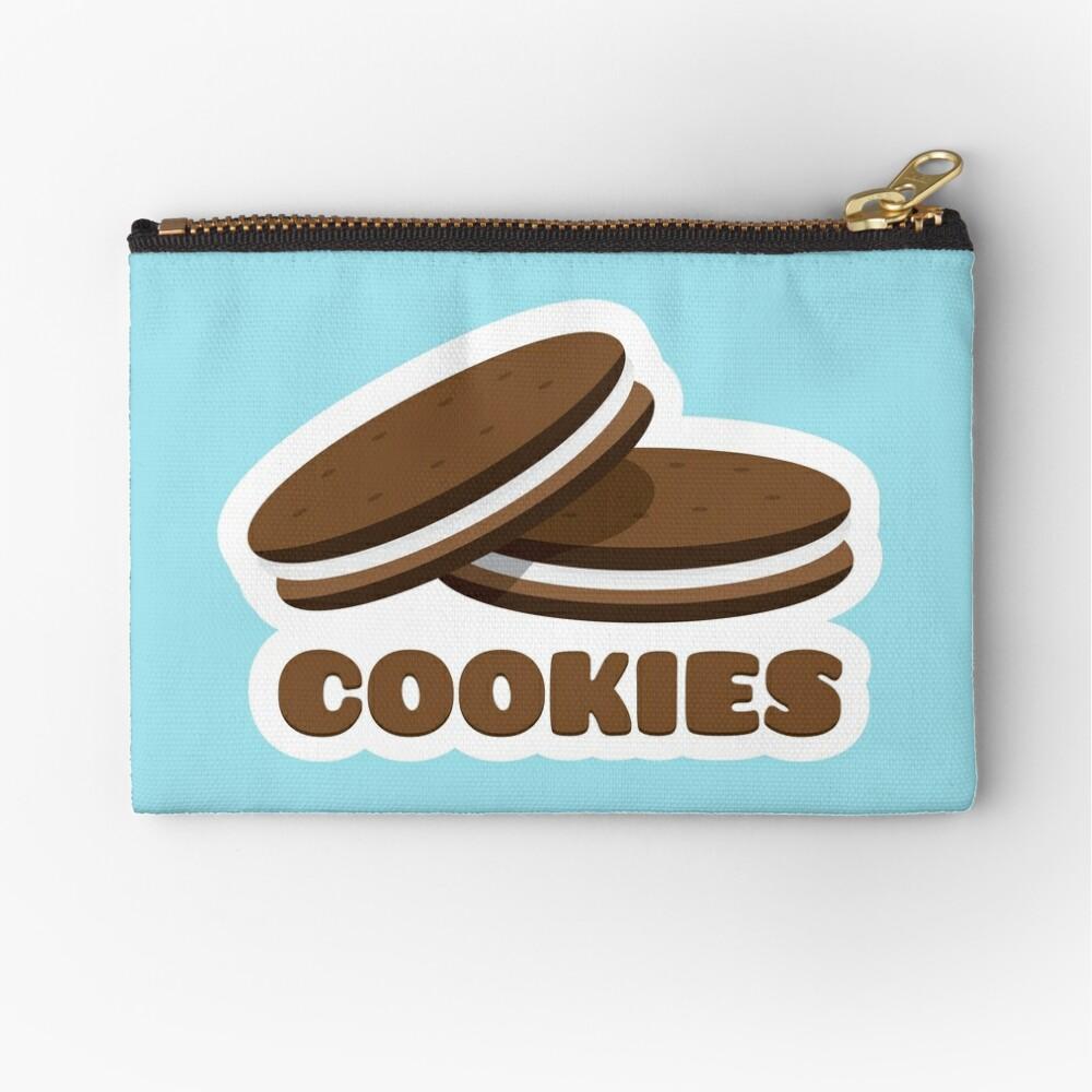 Cookies Zipper Pouch