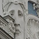 Art nouveau Riga Street building by mikequigley