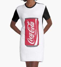 coca cola Graphic T-Shirt Dress