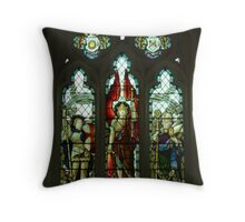 St George, St Michael & St Nicholas Throw Pillow