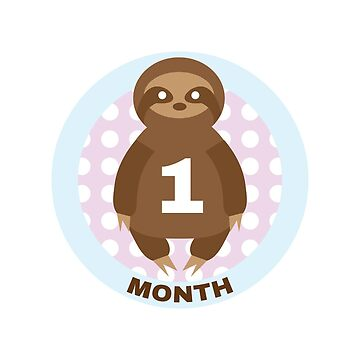 Baby Growth - Sloth (1 Month) by babybigfoot
