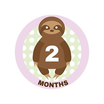 Baby Growth - Sloth (2 Months) by babybigfoot
