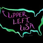 Upper Left, USA - Neon by Marie Funseth