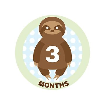 Baby Growth - Sloth (3 Months) by babybigfoot