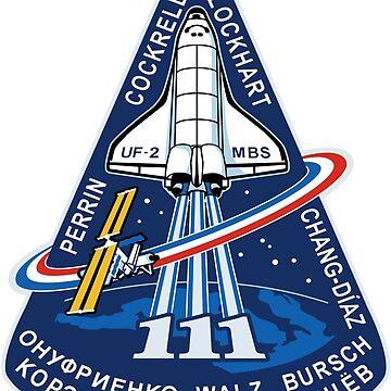 STS-111 Mission Logo by Quatrosales