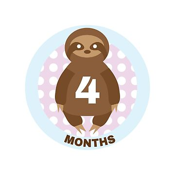 Baby Growth - Sloth (4 Months) by babybigfoot