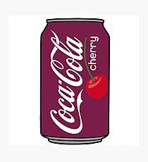 cherry coke Photographic Print