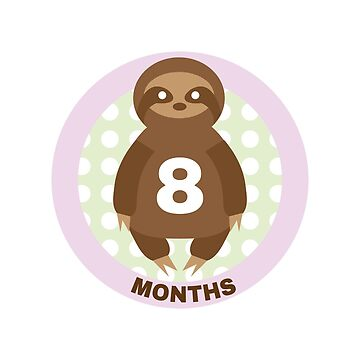 Baby Growth - Sloth (8 Months) by babybigfoot