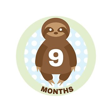Baby Growth - Sloth (9 Months) by babybigfoot