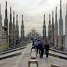 Milan Duomo II by Harry Oldmeadow