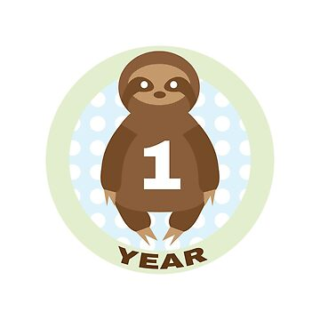 Baby Growth - Sloth (1 Year) by babybigfoot