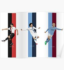 The Evolution of David Silva Poster