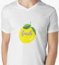 fresh lemon Men's V-Neck T-Shirt