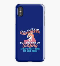 You Can Go Surfing iPhone Case
