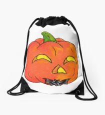 Pumpkin Groom Drawstring Bag