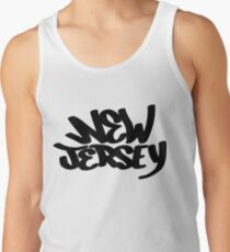 New Jersey Graffiti Tank Top
