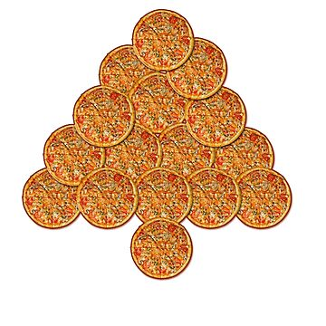 Pizza Tree by Zmagine