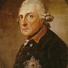 Frederick the Great Portrait by edsimoneit
