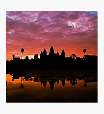 Sunrise Over Angkor Wat Photographic Print