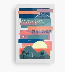 Tropical Skies Metal Print